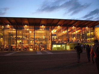Limoges – Bellegarde Airport - Image: Limoges Bellegarde aérogare