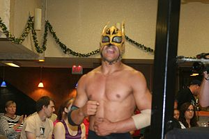King of Trios - Lince Dorado, one third of the 2008 King of Trios, along with Incognito and El Pantera