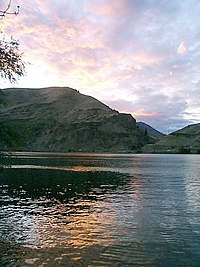 Lincoln Rock from its namesake State Park on the Columbia River - panoramio.jpg