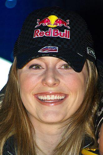 2008–09 FIS Alpine Ski World Cup - Image: Lindsey Vonn Altenmarkt Zauchensee 2009