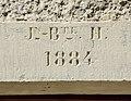 Linteau daté de 1884. Eguenigue.jpg
