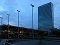 Linz - Bahnhof und Terminal-Tower.jpg