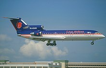 Lion air wikipedia the yakovlev yak 42d the first aircraft of lion air landing in singapore stopboris Images