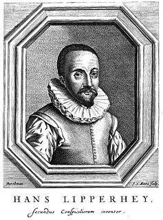 Hans Lippershey German-Dutch spectacle-maker
