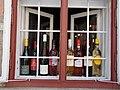 Listed Utl-Keresztény house, wine shop window. - 1 Dobó Street, Eger, 2016 Hungary.jpg