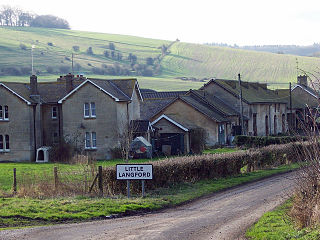 Little Langford Human settlement in England