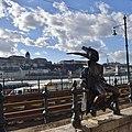 Little Princess Statue, Danube Promenade, Budapest, Hungary (Ank Kumar) 10.jpg