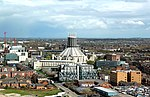 Liverpool Metropolitan Cathedral from St John's Beacon 1.jpg
