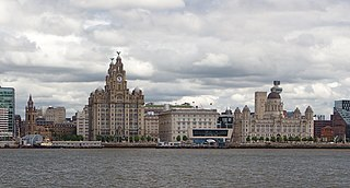 Liverpool Maritime Mercantile City Former World Heritage Site in Liverpool, England