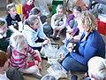 Liz, children and pottery.jpg