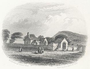 Llanrhos Church and Maelgwyn