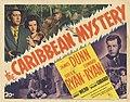 Lobby card for The Caribbean Mystery.jpg