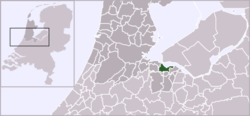 Location of Naarden