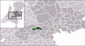 Opheusden - Image: Locatie Neder Betuwe