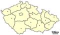 Location of Czech city Caslav.png