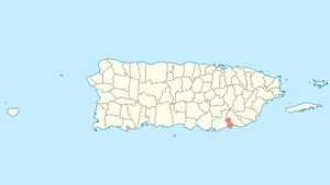 Location of Arroyo in Puerto Rico