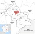 Locator map of Kanton Le Grand-Lemps 2019.png