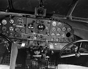 Lockheed C-40A cockpit