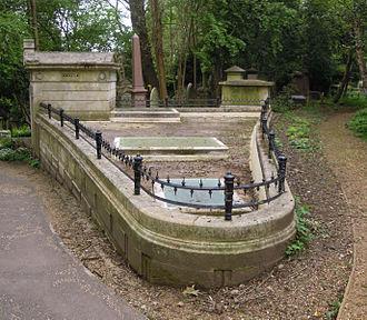 Loftus William Otway - The family tomb of Loftus William Otway