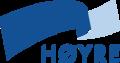 Logo del Partido Conservador de Noruega.png
