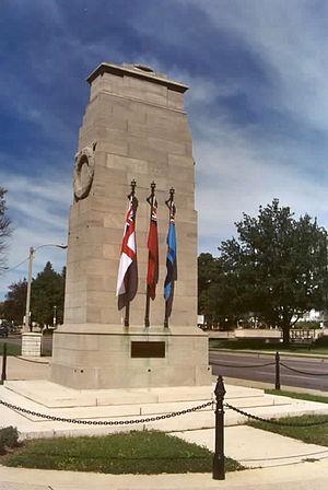 Victoria Park, London, Ontario - Cenotaph