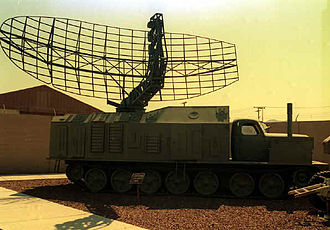 P-40 radar - P-40 radar at Nellis AFB