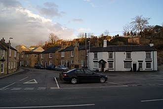 Bramham, West Yorkshire - Image: Looking up Low Way from Front Street