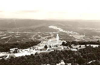 Covenant College - The Lookout Mountain Hotel on Lookout Mountain, Georgia, now home to Covenant College
