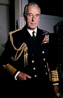 Louis Mountbatten, 1st Earl Mountbatten of Burma British statesman and naval officer