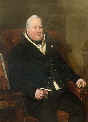 William Maule, 1st Baron Panmure - Lord Panmure - patron of (and by) Thomas Musgrave Joy - a painter known principally for his portraits.