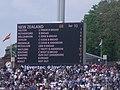 Lords Test Match, England v NZ Score Board.jpg