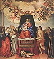 Lorenzo Lotto - Madonna and Child with Saints - WGA13678.jpg