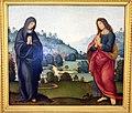 Lorenzo di credi, madonna e s. giovanni dolenti, 1520-40 ca., da s. gaggio 1.JPG