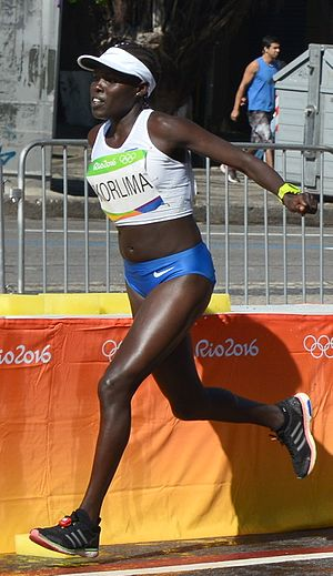 Israel at the 2016 Summer Olympics - Lonah Chemtai in the marathon event of the 2016 Summer Olympics