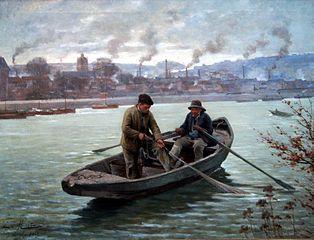 La pêche à la violette