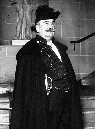 Louis Bertrand académicien 1926