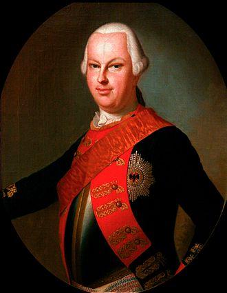 Louis IX, Landgrave of Hesse-Darmstadt - Portrait of Louis IX around 1780 in the Musée historique de Strasbourg