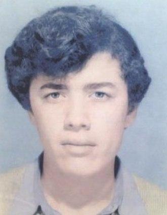 Lounès Matoub - Young Lounès Matoub 1973