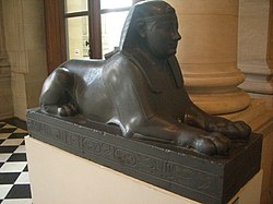 Sphinx of pharaoh Nepherites I in the Louvre Museum
