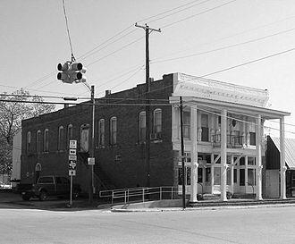 Lovelady, Texas - C. R. Rich Building