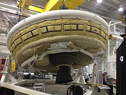 Low-Density Supersonic Decelerator preparing for a supersonic test PIA18006.jpg