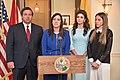 Lt Gov Núñez, The DeSantis and Fabiana Rosales at Tallahassee (2).jpg
