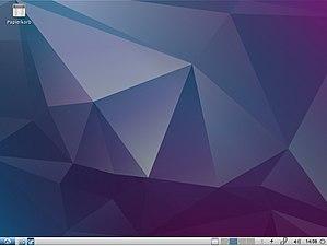 Lubuntu - Image: Lubuntu 17.10 Desktop