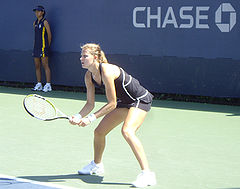 Lucie Safarova At The 2007 US Open