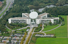 Luchtfoto GEA Center, Bochum