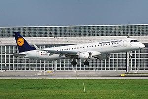 Embraer - Lufthansa CityLine Embraer 195LR