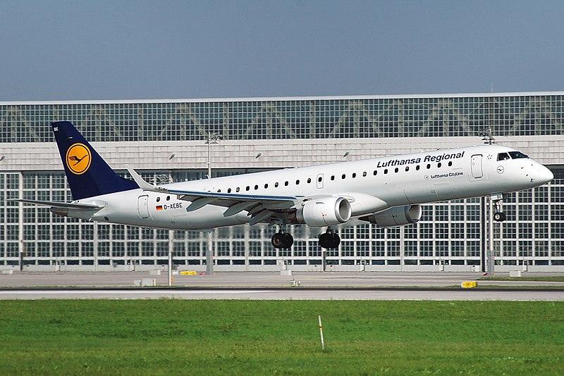 File:LufthansaCityline E195LR D-AEBE MUC.jpg