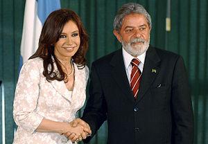 Cristina Kirchner, president-elect of Argentin...