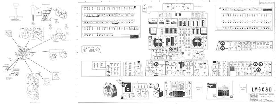 Lunar Module Control Displays
