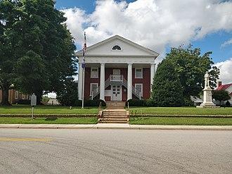 Lunenburg County, Virginia - Image: Lunenburg Courthouse 2018